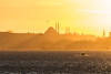 Watercolour sun (The Frustrated Photog (Anthony) ADPphotography) Tags: category citiestowns istanbul ortakoy places seascape sunset travel turkey canon70d tamron70300 canon outdoor travelphotography landscapephotography mosque minaret boat water birds seagull city skyline cityscape sky sea