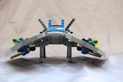 Front view Star Hawk (sander_koenen92) Tags: lego space moc ship fighter