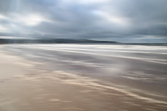 Sea, Ayr I (strachcall) Tags: intentionalcameramovement incameraeffects beach landscape ayr icm water blur sky movement scotland coast sea clouds