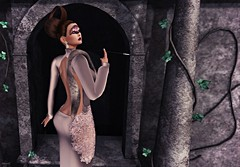 LIke a Diva (kare Karas) Tags: woman lady femme girl girly diva elegance beauty pretty cute sensual seductive seduce danger virtual avatar secondlife fun game mesh bento hud colors appliers atitute event gown mask march jumo algesdesigns swankevent