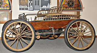 1898 home built gasoline car
