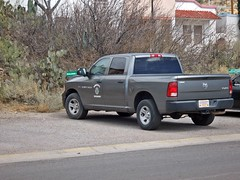 New Job 3/9/2018 (THE RANGE PRODUCTIONS) Tags: sierracountynm southwestus smalltownsouthwest small truthorconesquencesnm town newmexico desert nm ram ram1500 government vehicle pickup truck