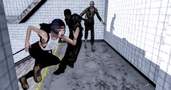 Zombie Escape! (eiloodoolittle) Tags: zombies