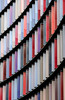 Candy Canes (The Green Album) Tags: abstract architecture modern contemporary sunshield cladding building office environment colours multicoloured strips london fujifilm xt2