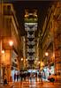 Elevador de San Justa (Totugj) Tags: d5100 nikon nikkor 55105mm portugal lisboa europa europe urbanscape urbanismo urbano nocturna