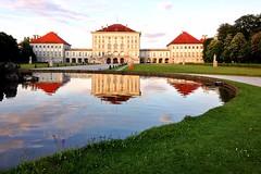 nymphenburg reflection (sculptorli) Tags: nymphenburg reflection münchen munich bavaria bayern deutschland germany palacio palace nymphenburgpalace castle neuhausen schlösser châteaux architecture