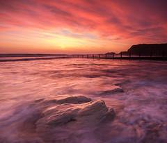 Space and Time (johnkaysleftleg) Tags: seaham sunrise seahamharbour featherbedrock seascape tide rocks clouds countydurham durhamcoast durham northeast england colourful canon760d sigma1020mmf456exdchsm ndhardgrad06