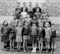 Class photo (theirhistory) Tags: children kids boys school girls dress skirt jumper shorts sandals shoes wellies boots