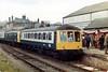 Brechin Farewell 2/5/1981 (dhtulyar) Tags: 55000 50239 59053 50245 brechin dmu railcar 122 101