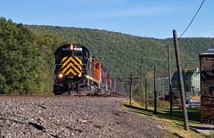 WNY&P 430 - Emporium, PA (Wheelnrail) Tags: wnyp western new york pennsylvania alco c430 locomotive railroad rail road rails 430 ol3 emporium turn pa freight train stone