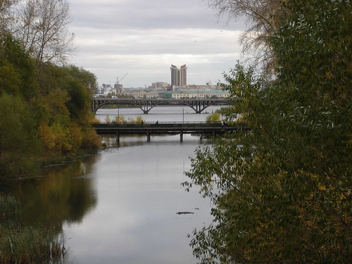 Вид на центр города с северо-запада ©  ayampolsky