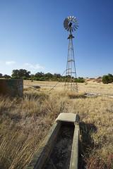 Windmill (Stueyman) Tags: sony alpha ilce ze zeiss sel1635z 1635 au australia wa westernaustralia summer ruined sky grass windmill trough