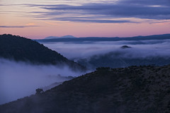 Sierra de Andujar - Andalusia - Spain (wietsej) Tags: sierra de andujar andalusia spain sony rx10 rx10m4 iv mist fog sunrise mountain rx10iv