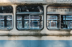 (jtr27) Tags: dscf7398xl2 jtr27 fuji fujifilm fujinon xt20 xtrans xf 35mm f2 f20 rwr wr school bus reflection junkyard maine newengland