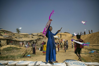 Bangladesh - International Women's Day in the Rohingya Refugee Camps