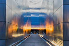 10:52-3 Empty Sky at Sunset (Woodlands Photog) Tags: emptysky 911 memorial new jersey