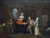 National Gallery - London (Magdeburg) Tags: national gallery london nationalgallerylondon nationalgallery nationalgalerie gemäldegalerie the galerie gemälde thenationalgallery city westminster central cityofwestminster centrallondon marriage alamode inspection william hogarth williamhogarth