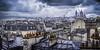 Sur les toits de Paris... (tof-lo62) Tags: panorama paris france pano panoramique panoramic sacré coeur pluie sky skyline cityscape clouds rain gorgeous composition