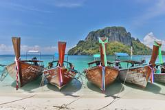 Are you ready for a voyage? (Gergely_Kiss) Tags: thaibeaches longtailboat tupisland andamansea thaiislands islandtour thailandvacation thailandholiday thailand krabi