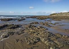 Kaka Point (fantommst) Tags: lisaridings fantommst kaka point beach bay southland nz newzealand rocky shelf lowtide kakapoint