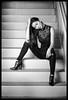 Zenia - Inner Space (jfinite) Tags: model beauty fashion environmentalportraiture spring jeans boots brunette asianmodel asian
