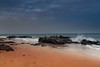 Fuerteventura (Ag-NO3 Angelo Sampino) Tags: mare sea oceano ocean scogli stones seaside spiaggia sun sole landscape paesaggio orizzonte horizon sabbia sand agno3 © angelo sampino nikon d700 jandia fuerteventura atlantico atlantic cielo sky water avventura adventure sunset tramonto spazio space marte mars ngc persone acqua baia