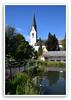 Oberstdorf Kurpark mit Kirche St.Johannes Babtist (Harald52) Tags: oberstdorf allgäu kurpark kirche urlaub
