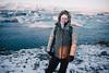 Andrea (BurlapZack) Tags: easternregion iceland is pentaxk1 pentaxhddfa28105mmf3556eddcwr vscofilm pack01 portrait ice snow winter icefloes glacier glaciers windy vacation travel family sisterinlaw bokeh dof sunrise morning adventure nature exploration arcticcircle