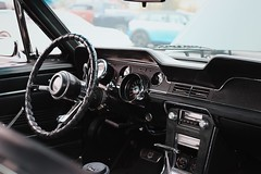 1967 Ford Mustang Interior (dmesser92) Tags: carsandcoffee carscoffee carsandcoffeeoftheupstate carscoffeeoftheupstate carshow carmeet car truck automotive ford fordmustang mustang 390gt fastback interior