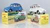 Atlas and Original Dinky Citroen 2CV 500 (adrianz toyz) Tags: dinky toys toy model car diecast reissue france french citroen 2cv 500 atlas editions spain 1966