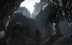 Ruins | Rise of the Tomb Raider (Stellasin) Tags: gaming game dark darkness beauty destruction mods weather reflection people trees flare graphics hot photography sky mountains lara croft is love beautiful girl nevermind these tags ruins caves tomb raider mystery treasure hunter