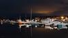 Fevik brygge (Øyvind Bjerkholt (Thanks for 54 million+ views)) Tags: fevik brygge harbor marina boats night nocturne reflections grimstad arendal norway canon longexposure