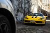 Musing mews. (TJHarrington) Tags: ferrari 458 speciale giallo x1hga alwayscheckthemews londoncars supercarsoflondon car supercar yellow london belgravia knightsbridge