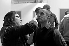 Maquillage pour la scène (mifranc91) Tags: blackandwhite bw concert coulisses d700 lumières monochrome nikon noiretblanc scène spectacle troupe zicos