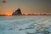 Church Sunrise 2 (Explored) (Trojan Wonder) Tags: church st thomas beckett snow sunrise sun spire kent mist