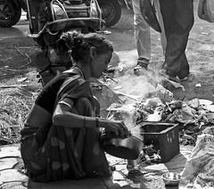Day begins on the street (magiceye) Tags: morning street homeless mumbai india monochrome blackandwhite bnw life streetphoto streetportrait