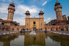 Masjid Wazir Khan (imtiazchaudhry) Tags: building architecture mosque courtyard water pond people worship reflection construction style mughal era minaret