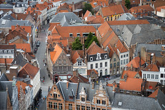 Roofs and streets from Belfort tower