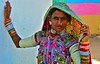India- Gujarat- Rann of Kutch (venturidonatella) Tags: india asia gujarat kutch rannofkutch colori colors nikon nikond300 d300 portrait ritratto people persone gentes emozioni minorities sari occhi eyes sguardo look