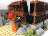 2018-071 - Tilt-Up (Steve Schar) Tags: 2018 wisconsin sunprairie iphone iphone6s project365 lego minifigure emmet build builder brick bricks masterbuilder wall construction