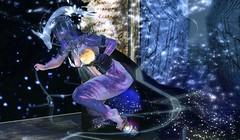 Galaxia.. (evolvingengeln) Tags: egosumaii plastik kraftwork tlc thearcade maitreya catwa fantasy galaxy blogger blogging 3davatar 3dgirl 3d fashion fashionblog avatar secondlife magic dragon smoke orb night cape sparkle