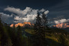 Prospect 展望 (kaising_fung) Tags: mountains trees peaks light clouds sky valley italy