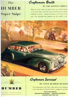 Humber Super Snipe (1952) Series III
