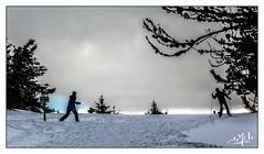 Les Estables (christian_lemale) Tags: lesestables mézenc montagne mountain neige snow arbres trees ciel sky france nikon d7100