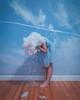 maladaptive daydreaming II (lauren zaknoun) Tags: surreal surrealphotography surrealism conceptual conceptualphotography contemporaryart laurenzaknoun portrait selfportrait rain sadness depression dreaming dreams sky planes aliceinwonderland clouds girl