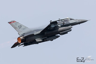 90-0827 United States Air Force General Dynamics F-16CM Fighting Falcon