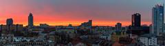 Minsk Sunset (free3yourmind) Tags: minsk sunset panorama panoramic view nemiga city architecture cityscape belarus