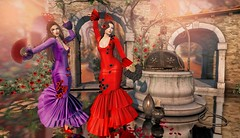 Flamenco Dancing in Seville (Duchess Flux) Tags: lootbox skinfair palegirlproduction stpatricksdayhunt kustom9 collabor88 belleepoque entwined amais laq skinnery shinystuffs swallow exile glamaffair lelutka aurica halfdeer 8f8 flamenco dance secondlife spain sl