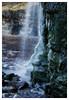 (Light Magnetic) Tags: dorset waterfall cliff landscape coast uk kimmeridge ice icicle