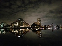 2018-03-08_09-24-41 (Sayantan_Mukherjee_) Tags: boston charlesriver nightphotography winter freezing ice twilight handheld
